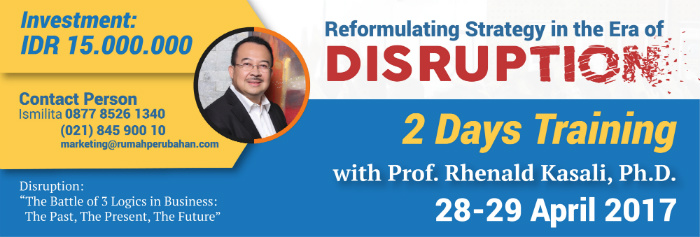 Reformulating Strategy in the Era of Disruption – Batch 2