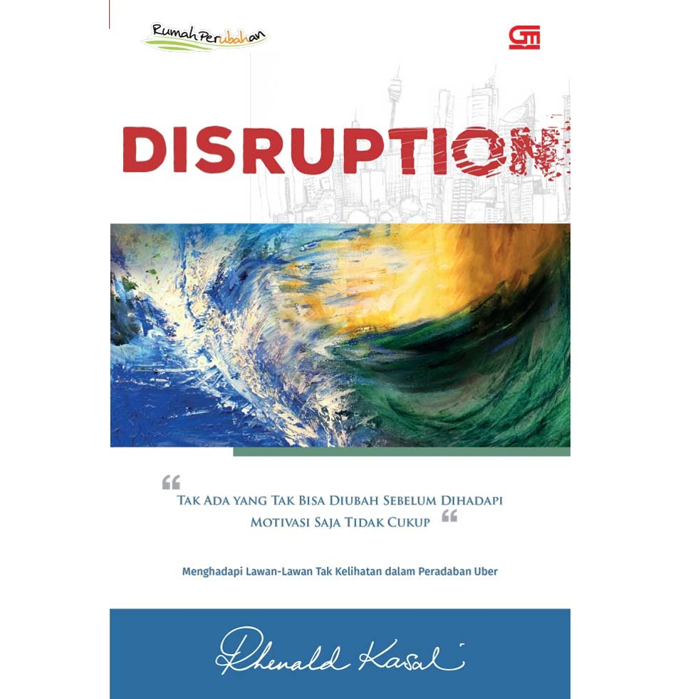 Disruption - Sampul Depan Sq