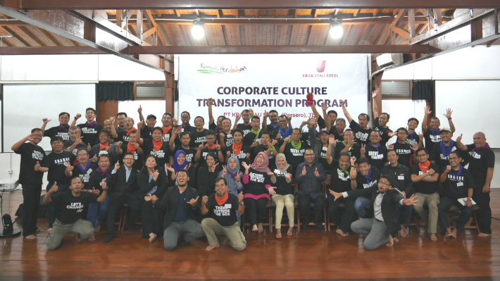 Change Agent Development Program Batch 1 – PT Krakatau Steel